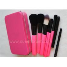 7PCS Nylon Hair Makeup Brush Set with Case