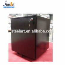 Hot sell metal office furniture 2 drawer file cabinet/black mobile cabinet