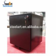 Hot vender móveis de escritório de metal 2 gaveta do armário de arquivo / armário móvel preto