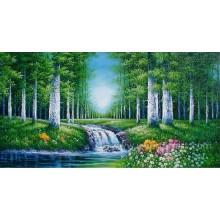 Настенное искусство Лесной пейзаж Живопись Холст Art (ETL-093)