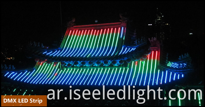 DMX512 RGB LED Pixel Strip