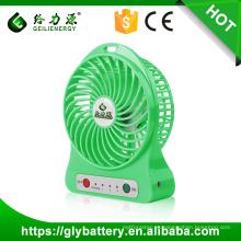 Fã portátil do usb de alta velocidade 5V da fábrica de Guangzhou mini com bateria