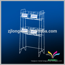 2 tiers knock down design library book shelving