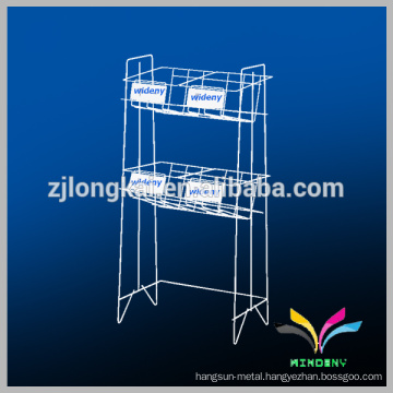 Factory Directly Supply 2 Layers metal display stand