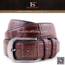 Longa vida útil de alta qualidade cintos de couro genuíno para os homens