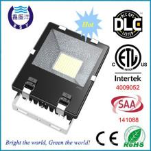 ETL Certified chip SMD Mean Well Driver 8500lm 100w llevó iluminación de inundación