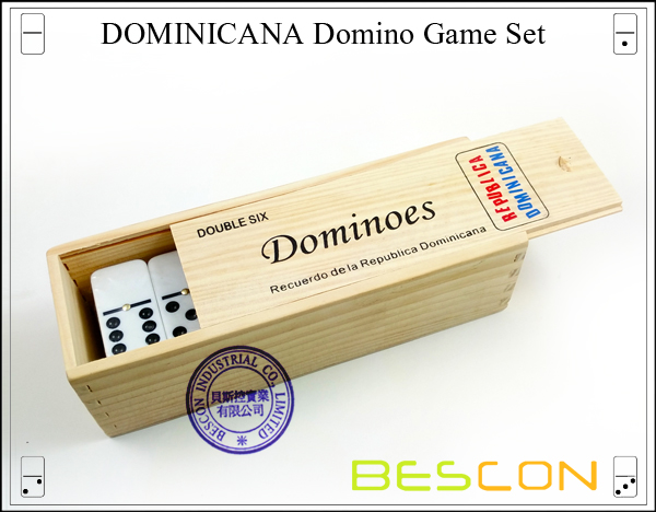 DOMINICANA Domino Game Set-3