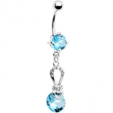 Aqua Juwel Exquisite Schönheit Bauch Ring