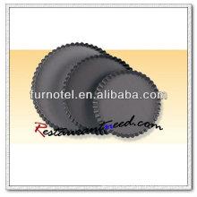 V332 Hart eloxiert Runde geriffelte Kuchenform