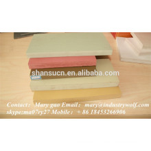 alta qualidade pvc extrudado placa de espuma / plexiglass folhas / materiais na tomada de chinelos / folhas de policarbonato