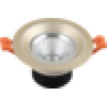 Lampe à LED à LED chaude AC100-240V 3W 5W COB plafonnier à LED