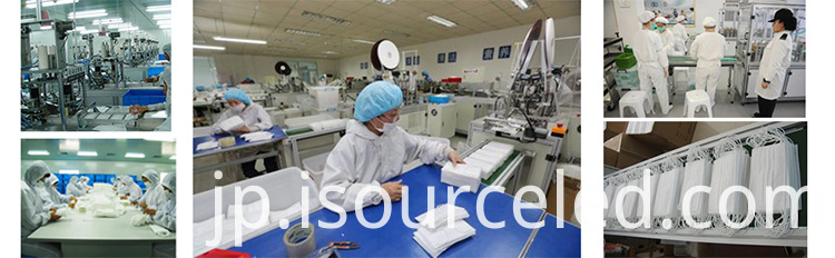 Medical mask factory production