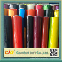 Transparente Farbe PVC-Blatt für Paket