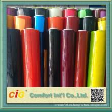Transparente y Color de la hoja del PVC para el paquete