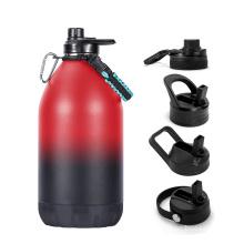 Custom Logo Vacuum Food Grade Water Bottle 1 Gallon for Sports