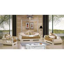 Coffee Color New Classic Sofa, Fabric Sofa (519)
