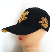 Europäische Populäre 3D Stickerei Baseball Cap Cap