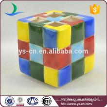 Suporte de escova de dentes Rubik's Cube moderno