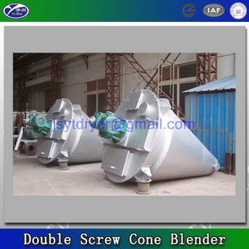 Double screw cone mixer in chemical powder