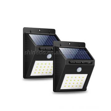 Wholesale Cheap Waterproof Solar Wall Lamp IP65 Solar Powered Motion Sensor Wall Light For Outdoor Lighting