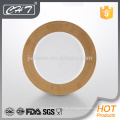 """A068 Placa de muestra de 12 """"de hueso fino con diseño de oro"""