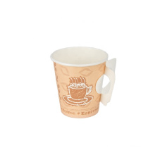 Top Sale Factory Sale Disposable Paper Coffee Cups Custom paper handled cup