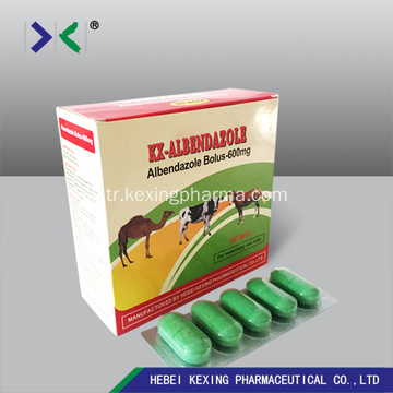 Albendazol Tablet 250mg Sığır