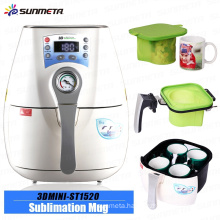 2015 Sunmeta Mini Vacuum Sublimation heat press mug 3D Machine ST-1520