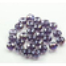Perles de rondelle de mode, perles de verre en porcelaine de haute qualité, perles de verre ronde en gros