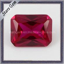 Lav creó el rectángulo sintético Ruby del rectángulo del corindón 5 #