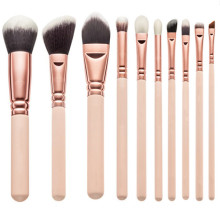 10PCS Luxury Quality Synthetic Hair Makeup Brush Set (TOOL-83)