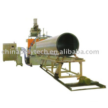 PVC Huge Calibre hollow double walled winding Pipe Production Line