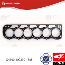 Junta da cabeça do cilindro G4700-1003001-386 yuchai para YC6G