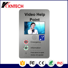 Телефон двери ЖК-дисплей Knzd-60 Kntech