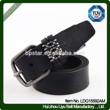 Bracelet en cuir véritable pour homme Cintos de couro Skinny Fashion Ceinture Casual pour jeans