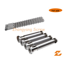 Hot Feed Screw and Barrel for Rubber Extruder