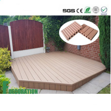 Waterproof Wood Plastic Composite Decking Floor