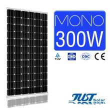Моно панель солнечных батарей 300 Вт с сертификацией Ce, CQC и TUV для сельского хозяйства