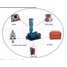 Soplador de raíces de tres lóbulos de alta presión para piscifactorías