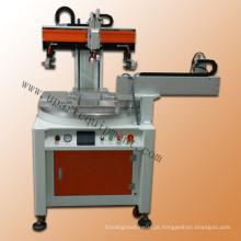 Máquina de impressão automática de logotipo de impressão de serigrafia
