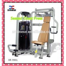 Mejor precio comercial sentado máquina de pecho máquina / pecho ejercicio gimnasio equipos / uso doméstico máquina de deportes para la venta