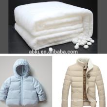 Non Сплетенный шелковый ватин для высокое качество зимняя куртка