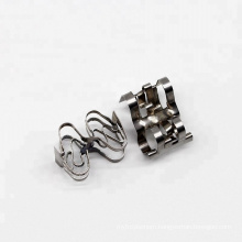 Metal random packing 15mm 30mm 50mm Stainless Steel Super Raschig Ring Tower Packing