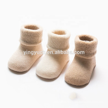 Hot Sale Wholesale children cartoon cute cotton animal organic baby socks