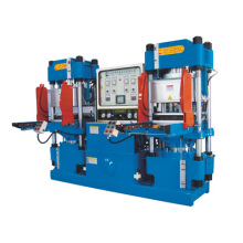 High-Precision Double-Pump Full-Automatic Vacuum Track-Style Hydraulic Molding Machine for O-Ring Products (KSV-250T)