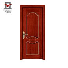 Primer branco mais recente design portas de madeira com design simples