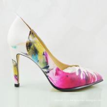 Новый стиль мода Женская обувь тонкие каблуки высокие каблуки (OLY16311-9)