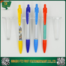 Click Custom Promotional Pen With Roll Out Paper