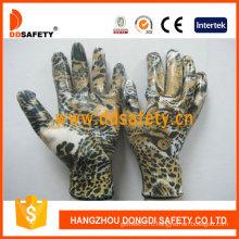 Белый нейлон с дизайном Орел оболочки перчатки-Dnn357