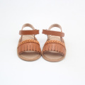 Venta al por mayor Fringe Kids Sandals Girls Moccasins Shoes